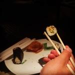 sushi at narita airport in tokyo