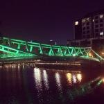 bridge view at night
