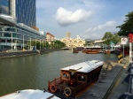 river taxi and clark quay