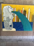 painting of the merlion