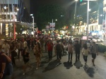 orchard road on a friday night. reminds me of time square in nyc