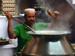 Indian cook at hawker center